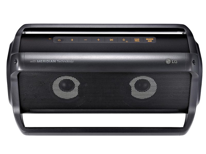 LG XBOOM Go PK7 | 2.0 Bluetooth-Lautsprecher mit 40 Watt | Multi-Bluetooth | IPX5 | MERIDIAN Sound