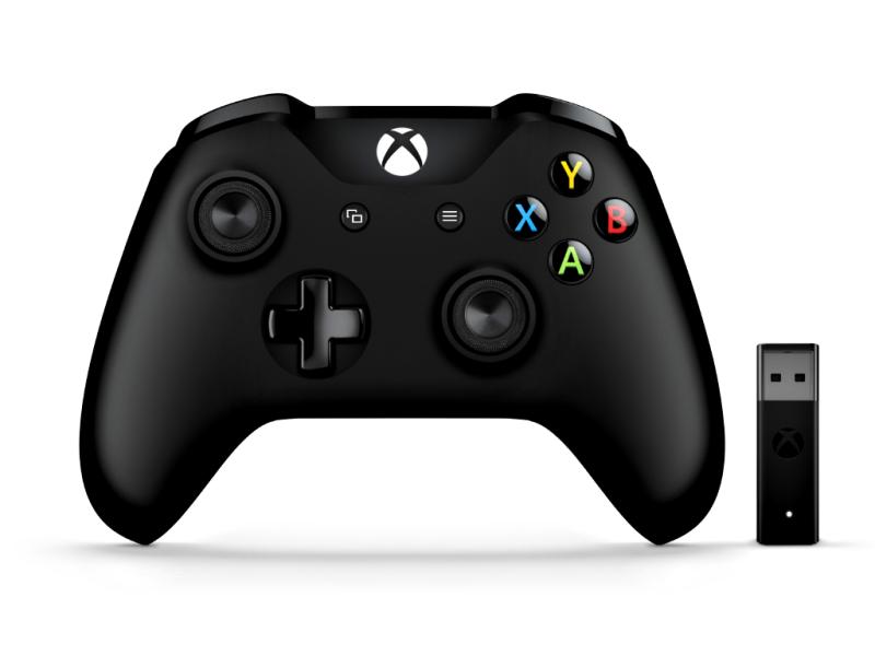 Microsoft XBox ONE Controller + Wireless Adapter für Widows PC und Xbox ONE DG-45000