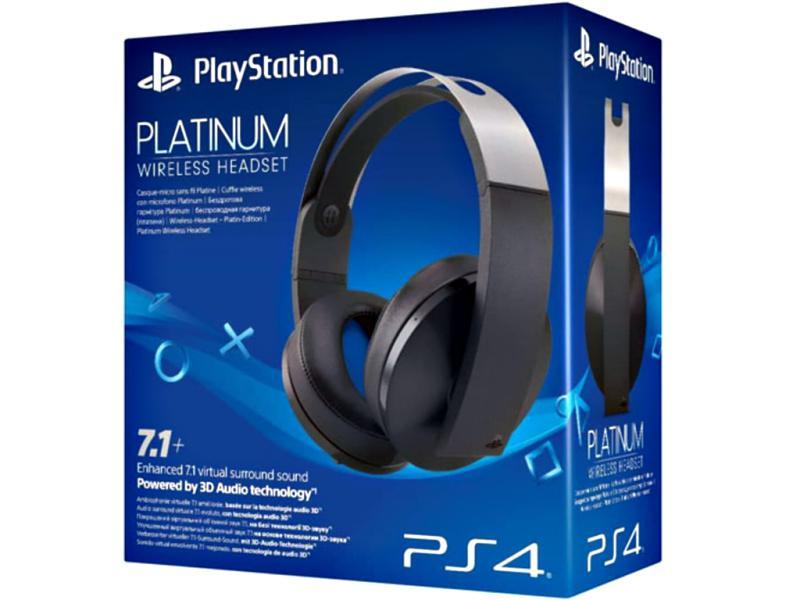 Sony Wireless Platinum Headset - 7.1 Virtual Surround Sound - PS5 kompatibel DKZ-11119